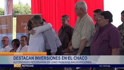 DESTACAN INVERSIÓN DE 1.000 MILLONES DE GUARANÍES EN EL CHACO PARAGUAYO
