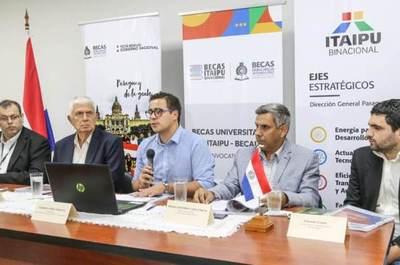 Arrancó etapa de postulación para becas universitarias de Itaipú y BECAL