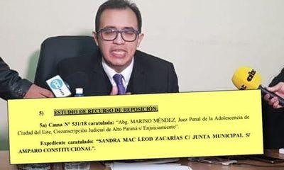 JEM ratifica enjuiciamiento y suspensión de juez de los ladrones y asesinos del clan Zacarías