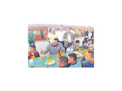 Se inicia la  entrega de la merienda escolar en  Canindeyú
