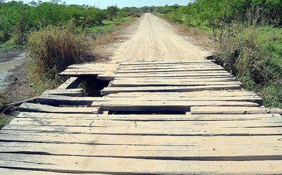 Puentes trampa en las vías de  Alto Paraguay