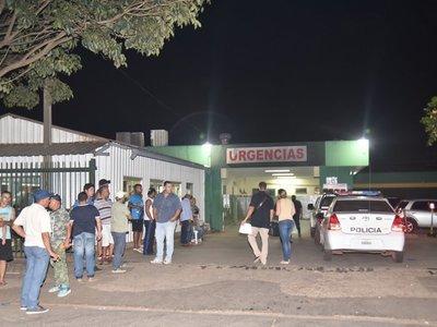 Joven es apuñalado frente al Hospital de Luque