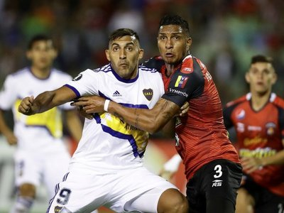 Boca se estrena con empate en Venezuela