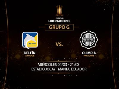 Olimpia se estrena en la Libertadores