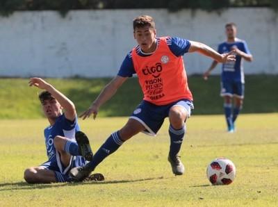 Albirroja Sub 20: Fútbol táctico en el entrenamiento matinal