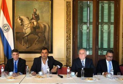 Gobernador participo de reunión del Consejo con representantes del FMI
