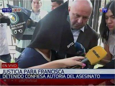 Sospechoso del crimen de Francisca implica a otras dos personas