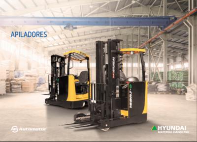 Automotor lanza apiladores Hyundai en el mercado paraguayo