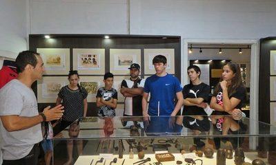 Museo de CDE con buena concurrencia en la «Semana Especial de la Triple Alianza»