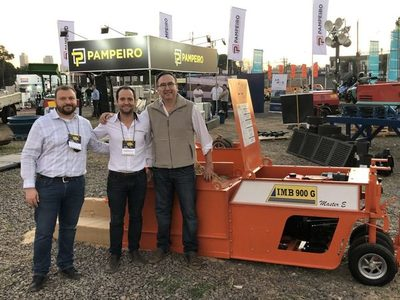 Exitosa participación de PAMPEIRO en la Tercera Expo Máquina
