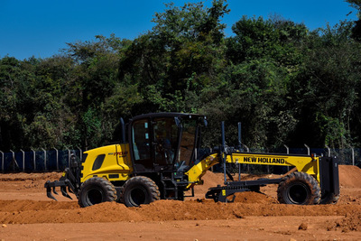 New Holland Construction presentó su oferta de productos en Expo Máquina
