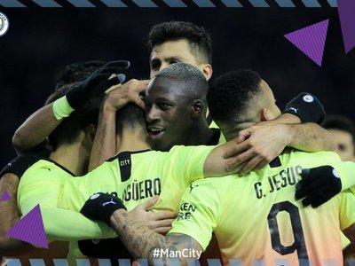 Agüero mete al City en los cuartos de la FA Cup