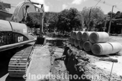 Ponta Porã presenta proyecto de desagüe pluvial para que el agua de lluvia ya no desemboque hacia Pedro Juan Caballero
