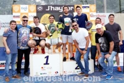 Con alto nivel de competencia se desarrolló Torneo de Primera Profesional de Pádel en el Club Social Amambay