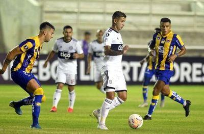 Olimpia saca un punto en Ecuador