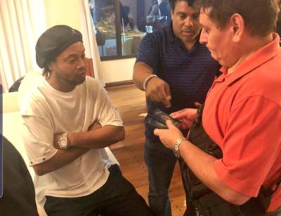 Caso Ronaldinho: 'La popularidad no te exime de la responsabilidad', sostiene ministro del Interior