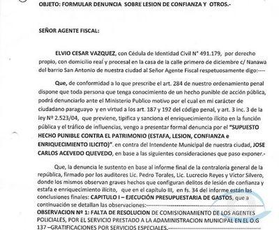 Director de página de noticias denuncia a José C. Acevedo por supuesto hecho punible de Estafa, Lesión de Confianza e Enriquecimiento Ilícito