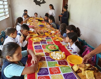 En Concepción el almuerzo escolar apenas alcanza al 50% de niños