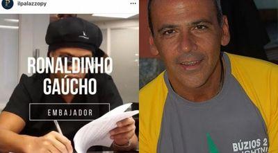 Empresario que trajo a Ronaldinho figura en el Lava Jato