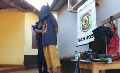 "Sospechoso de hurtar en ""Capitao Bar"" detenido"