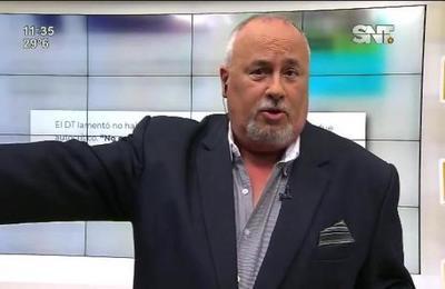 Monólogo de Javier Sosa Briganti en el SNT Deportes