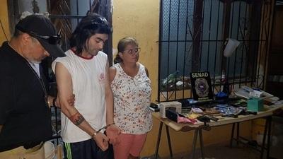 Neutralizan un foco de venta de drogas en Villa Elisa.