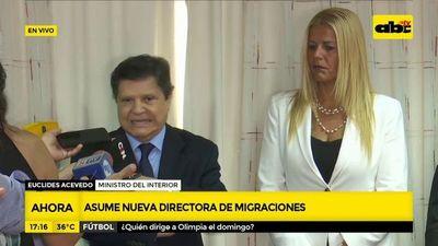 Asume nueva directora de Migraciones