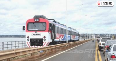 El tren  Posadas- Encarnación volvería a funcionar los sábados