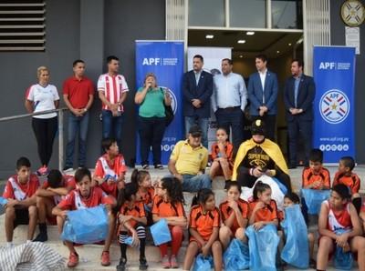 La APF presente en el Asunción Plogging 2020