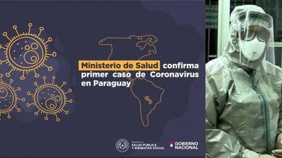 Ministro de Salud confirma primer caso de coronavirus en Paraguay
