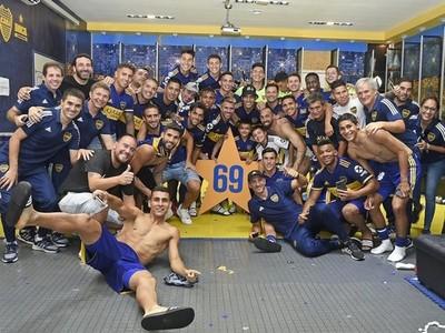 El paraguayo Junior Alonso, titular y campeón con Boca Juniors