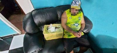 Detenido con 9 kilos de cocaína y 6.000 dosis de crack
