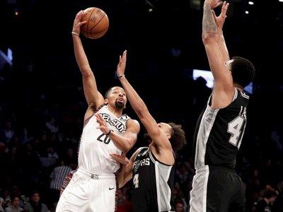 Dinwiddie dirige el ataque de los Nets