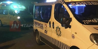 CAYÓ DE SU MOTOCICLETA Y APARENTEMENTE SUFRIÓ UN TRAUMATISMO DE CRÁNEO