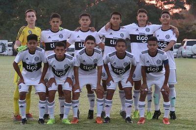 Olimpia lidera la Sub 14, Cerro Porteño la Sub 15