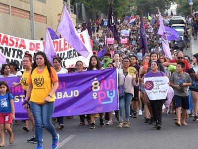 Marea de mujeres toma las  calles y exige  igualdad y cese de violencia