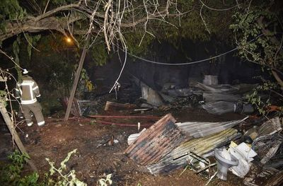 Precarias viviendas fueron consumidas por el fuego