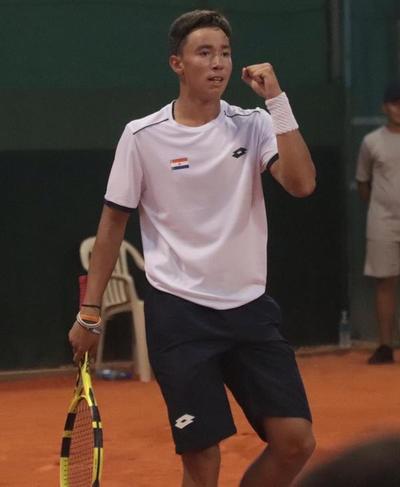 """Histórico: Con solo 15 años, """"Tin"""" ganó un partido en la Copa Davis"""