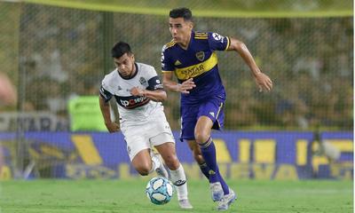 EL MOMENTO DE JÚNIOR Figura del Boca campeón