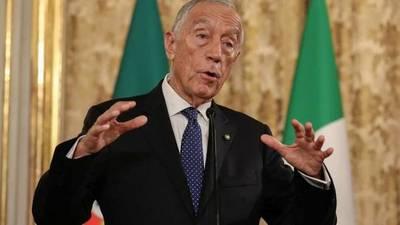 Presidente de Portugal se somete a cuarentena voluntaria para descartar Coronavirus