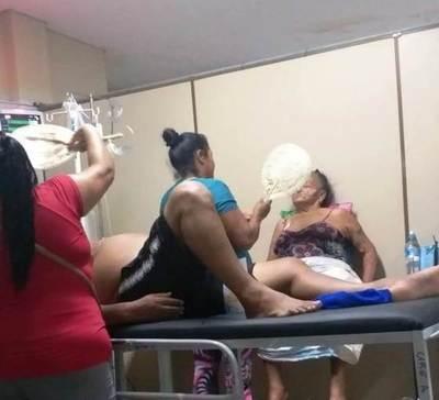 Pacientes sufren altas temperaturas por fallas de acondicionadores de aire •
