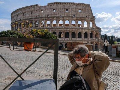 Italia limita movimientos en todo el país y estudia pedir más desvío del déficit