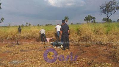 Hallan restos de avioneta siniestrada en Amambay