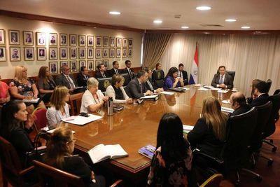 Coordinan acciones con directores del Poder Judicial
