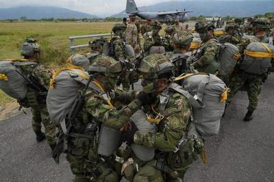 Colombia y EE. UU. inician entrenamiento en frontera con Venezuela