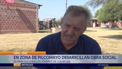 ENSEÑA ARTE A NIÑOS Y JÓVENES NATIVOS PARA ALEJARSE DE LOS VICIOS Y ALCOHOL EN EL CHACO PARAGUAYO