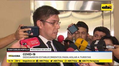 Covid-19: designaron establecimientos para aislar casos de turistas