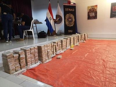 Incautan 400 kilos de cocaína en Concepción
