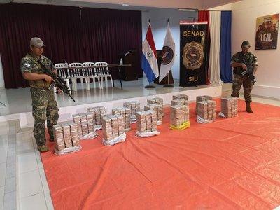 Golpe al narcotráfico: incautan 461 kgs. de cocaína en Concepción