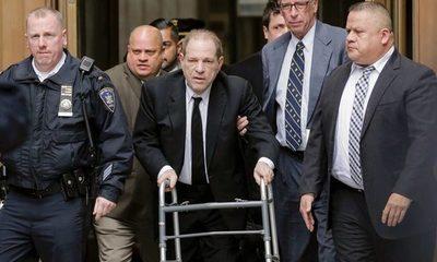 Harvey Weinstein sentenciado a 23 años de prisión por violación y abuso sexual